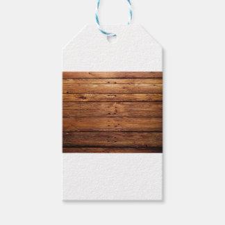 wood floor gift tags