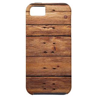 wood floor tough iPhone 5 case