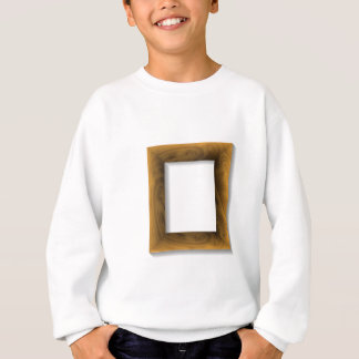 wood frame sweatshirt