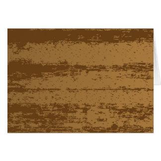 Wood Grain Background Card