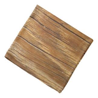 Wood Grain Bandana