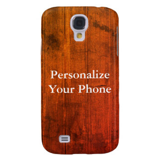 Wood Grain Colorful Samsung Galaxy S4 Cases