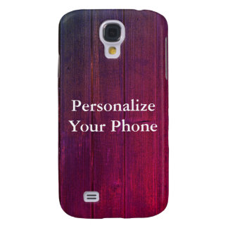 Wood Grain Colorful Samsung Galaxy S4 Covers