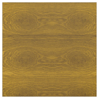 Wood Grain Effect Print Fabric