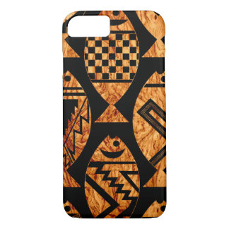 Wood Grain Fish iPhone 7 Case
