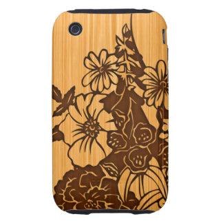 Wood Grain iPhone 3G Tough Case Tough iPhone 3 Cases