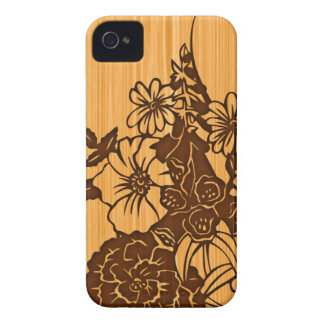 Wood Grain iPhone 4G Barely There Case-Mate