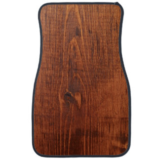 Wood Grain Look Car Mats