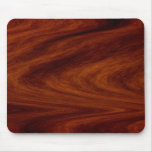 wood grain mouse pad