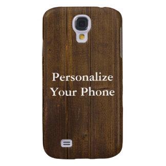 Wood Grain Samsung Galaxy S4 Case