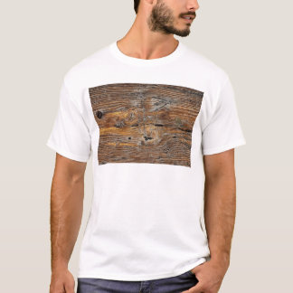 Wood grain, sheet of weathered timber T-Shirt