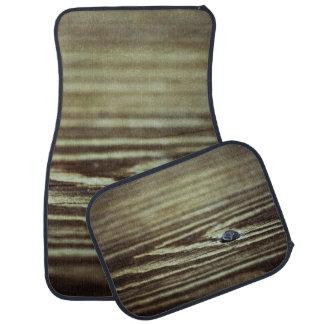 Wood Grain Texture Floor Mat