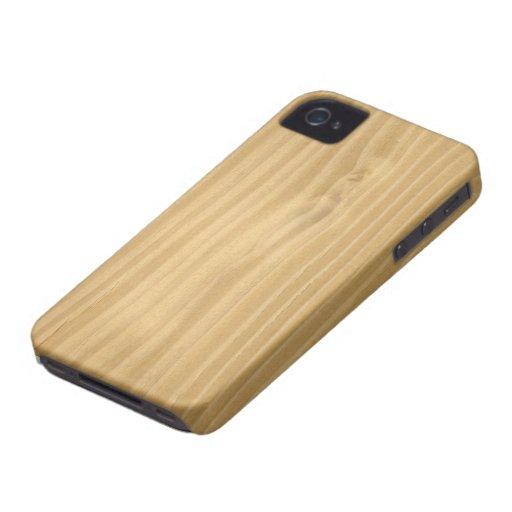Wood Grain Texture Case-Mate iPhone 4 Cases