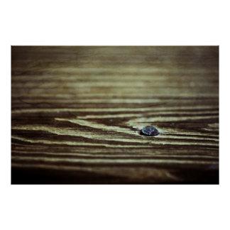 Wood Grain Texture Print