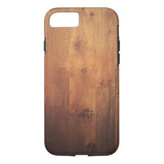 Wood Grain Wood Look - Stylish Pattern iPhone 7 Case