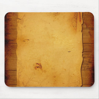 Wood grunge mouse pad