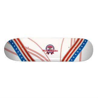 Wood Heights, MO Skateboard Decks