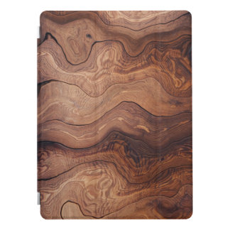 Wood In Motion Pattern Rustic Classy Masculine iPad Pro Cover