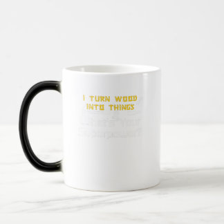 Wood Into Things What's Your Superpower Woodworker Magic Mug