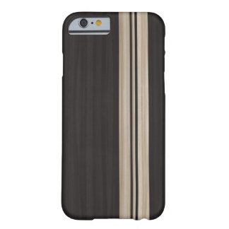 Wood iPhone 6 case with Stripes - Surfboard Style Barely There iPhone 6 Case