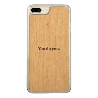 Wood iPhone case by Kel
