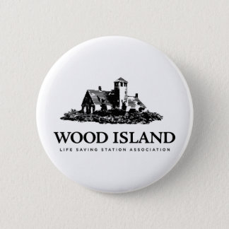 Wood Island Life Saving Station Assoc 6 Cm Round Badge