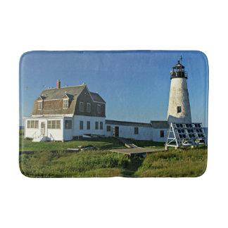 Wood Island Lighthouse Maine Bath Mat