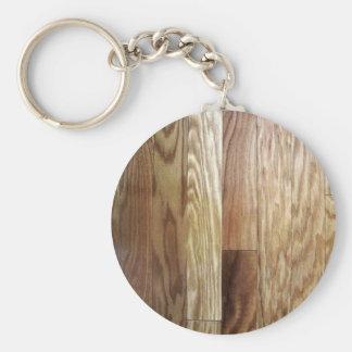 wood key ring