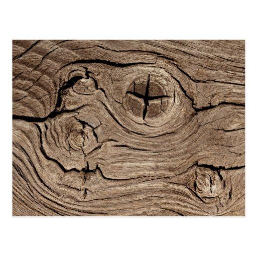 Wood Knot Postcard
