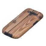 Wood Knot - Wood Grain Texture Samsung Galaxy SIII Case
