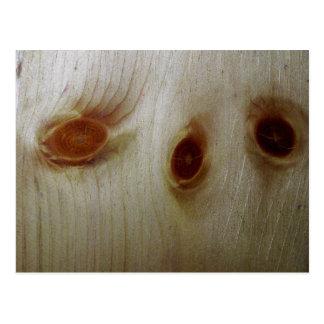 Wood Knots Postcard