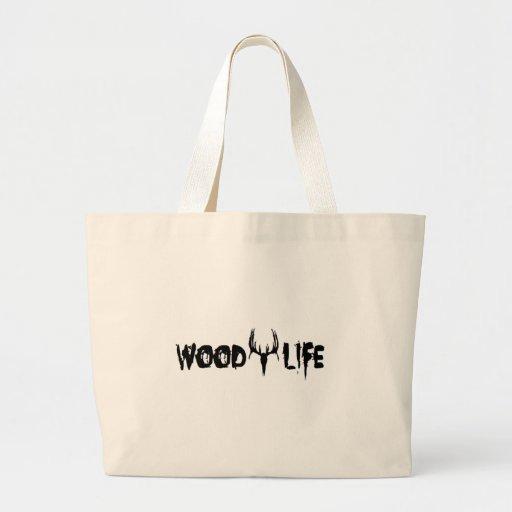 Wood Life Deer Head Bags