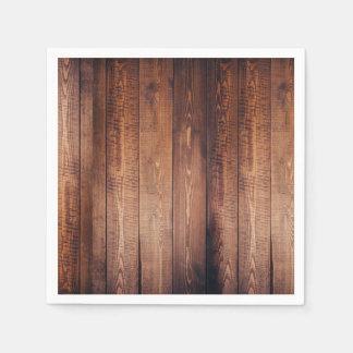 Wood-look Napkins Disposable Serviette