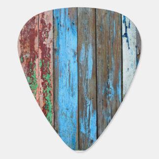 wood look pick plectrum