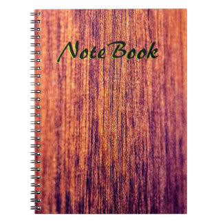 Wood Lovers Notebook