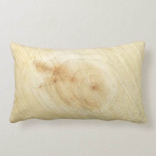 wood lumbar pillow