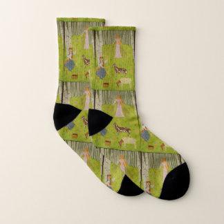 Wood Maiden Socks