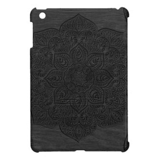 Wood mandala iPad mini cases