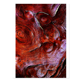 wood Natural Brown Texture Style Fashion Art Creat Postcard