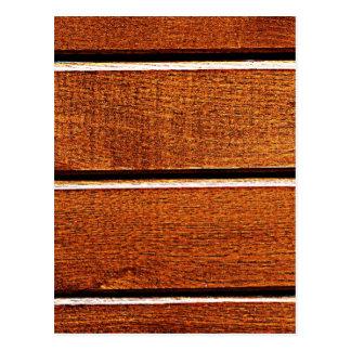wood Natural Brown Texture Style Fashion Art Creat Postcard