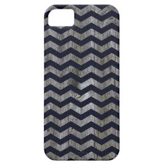 Wood navy blue chevron zig zag zigzag pattern iPhone 5 covers