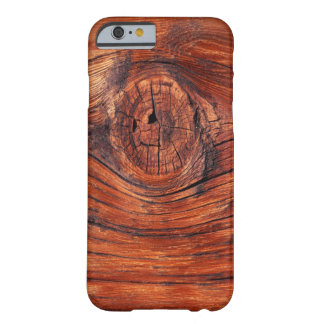 Wood Node Texture iPhone 6 case Barely There iPhone 6 Case