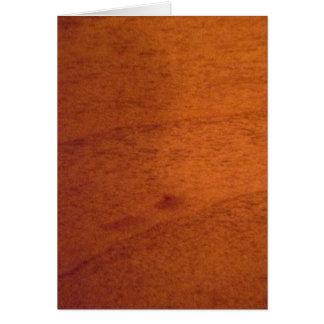 Wood Panel Card
