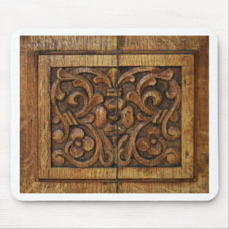 wood panel mouse pad