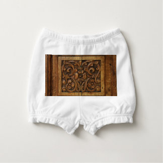 wood panel nappy cover