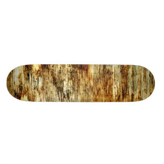 """Wood Panel Neglect"" JTG Art Skateboard"