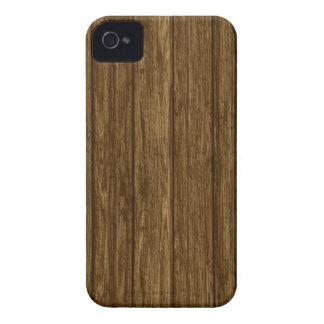 Wood Panel Photo Print iPhone 4 Case-Mate
