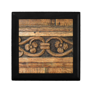wood panel sculpture gift box