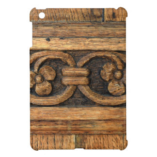 wood panel sculpture iPad mini covers