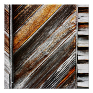 Wood Patter Poster